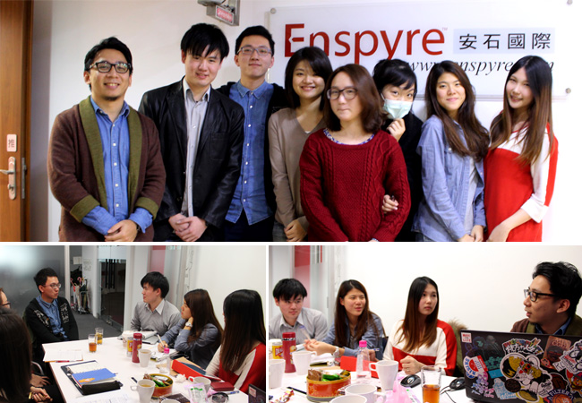 Enspyre intern and MixCode studio